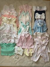 Vintage 1960's Estate Large Lot of Misc Baby/Toddler Clothing Sold As Is Flaws