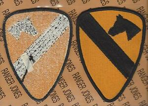 "1st Cavalry Division Dress Uniform 5"" Black bordered patch m/e"
