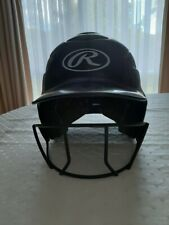 Rawlings Softball/Cricket Batting Helmet, Front Guard, Small-Medium Heads