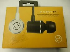 EVEN EarPrint E1 in-Ear Headphones - with Mic (Black and White)