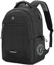 Laptop Backpack, Large Business Bags with USB Charging Port Water Resistant up