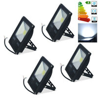 4X 20W LED Flood Light Security Lights Daylight Outdoor Garden Lighting IP65 UK