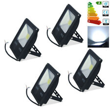 4x 20W LED Security Flood Lights IP65 Garden Outdoor Indoor Wall Lamp Cool White