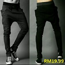 Korean Elastic Waist long sport pants