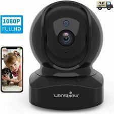 Wireless Security Camera Motion Detection 2Way Audio Night Vision Works W' Alexa
