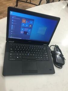 Dell Ultrabook E7450 Core i5-5200U 2.2GHz 8GB 250GB SSD Webcam Win10 Pro