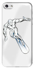 Silver Surfer Gel Domed Sticker/Decal for Rear of iphone 5