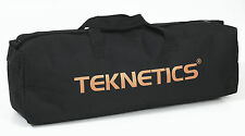 New Teknetics Metal Detector Padded and Zippered Black with Gold Logo Carry Bag