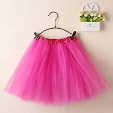 Women Adult Dancewear Tutu Mini Ballet Princess Pettiskirt Hallowen Party Skirt