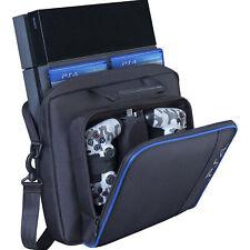For Game Consoles PS4/Pro/Slim Shoulder Bag Black Travel Carry Case Accessories