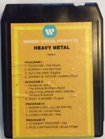 Warner Heavy Metal Tape 2 SP8T-2001 Various Artists 8 Track Tape