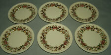 Johnson Bros Windsor Ware Margaret Rose Bread & Butter Plate set of 6 excellent