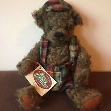 Ganz Cottage Collectibles Teddy Bear Robbie 1996 CC602 by Mary Holstad With Tags