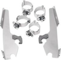 Memphis Shades Fats/Slim Mounting Hardware Kit Harley Dyna Wide Glide 06-17