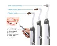 LED Elektrischer Ultraschallreiniger für Zahnfleck Reinigung Zahnsteinentferner