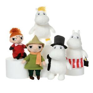 "The Moomins Plush Soft Toy Mamma Moomin Striped Apron - 6.5"""
