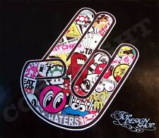 Stickerbomb Ps Shocker Aufkleber Auto JDM Tuning Bombing Dub Decal Stickerbomb