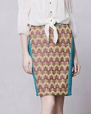 Anthropologie Cecilia Prado Caraivo Pencil Skirt Size S Gorgeous $298