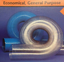 6''ID CVD CLEAR PVC HOSE/DUCTING WITH WIRE HELIX