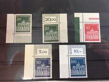 Berlin 1966  Mi.Nr. 287-290, Eckrand-Marken postfrisch