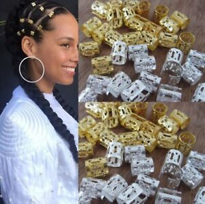 20 Pack Adjustable Gold , Silver or Multi Coloured Cuffs Clips Hair Accessories