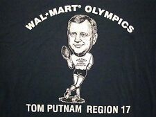 Vintage Walmart Wal-Mart Olympics Tom Putman Region Sports 1994 '94 T Shirt XL
