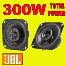 Jbl 300W 2-WAY total 4 Pulgadas Coche 10cm/van Puerta/Estante Coaxial Altavoces Par Nuevo