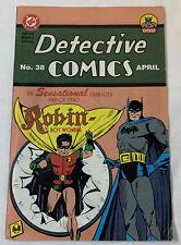 1995 Batman DETECTIVE COMICS #38 Special Replica Edition