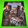 Williams DEMOLITION MAN 1994 Original NOS Pinball Machine Flyer Snipes Stallone