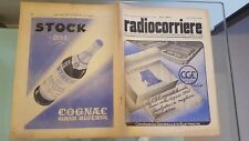 RADIOCORRIERE EIAR 1941 N 36 IL MAR NERO, PUBBLICITA' RADIOMARELLI, CGE RADIO