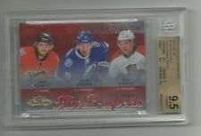 13/14 Hot Prospects Reinheart/ Tyler Johnson/Petrovic  Red Glow 13/27 BGS9.5