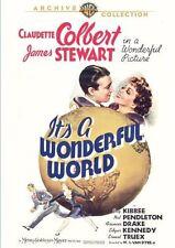 It's A Wonderful World DVD (1939) Claudette Colbert, Nat Pendleton James Stewart