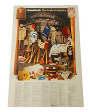 """1984 Baseball: The Pride of America Babe Ruth Poster 24"""" x 38"""""""