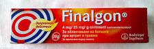 Finalgon Ointment - 20g. - Rheumatism Muscle Joint pain Arthritis Myagla!