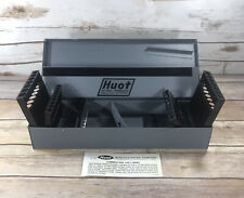 NEW Huot Drill Bit Case 11700 Steel Made In USA 3-in-1 Index Tools Power Tools