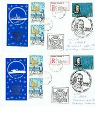 POLAND     LOT  OF  ,,4 ''     REGISTERED  COVERS  FROM      GDAŃSK  TO  RUSSIA