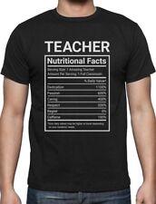 Teacher Nutritional Facts Teaching Gifts T-Shirt Classroom Gift
