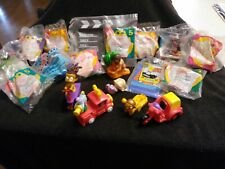 Huge Lot of  Vintage 80s 90s Happy Meal Mcdonalds & Other Fast Food Toys Mixed