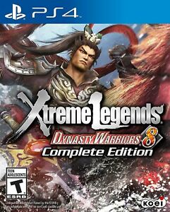 PLAYSTATION PS4 VIDEO GAME DYNASTY WARRIORS 8: XTREME LEGENDS COMPLETE ED NEW