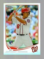 2013 TOPPS CHROME ANTHONY RENDON RC REFRACTOR #128 NATIONALS