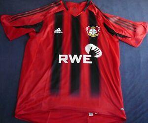Bayer Leverkusen #28 Ramelow match worn CL shirt known game