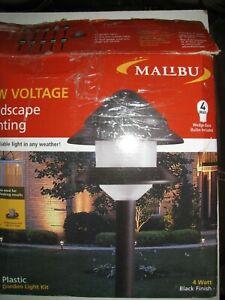 Malibu 8 Lights Set 4 Watt Model 8301-9908 Landscape Path Light Sensor