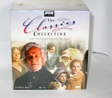 BBC Jane Austen & Charles Dickens Classics Collection (DVD 12 Disc set ) R1 New