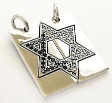 925 Sterling Silver Pendant Hexagram Jewish Star David