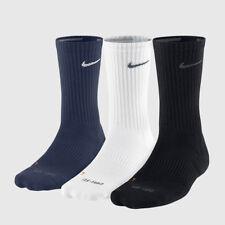 Nike Dri-Fit Half Cushioned Crew Socks 3 Pair Multi SX4827-904 Sz S 3