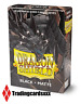 ♦Yu-Gi-Oh!♦ 60 Protèges Cartes/Sleeves SMALL Dragon Shield Matte - Black (Noir)