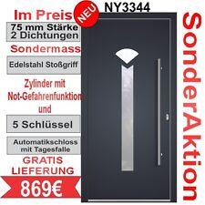 Haustür WH75 NY3344 Türen Aluminium mit Kunststoff  Eingangstür Tür Haustüren