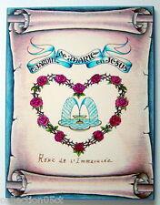 IMAGE RELIGIEUSE DE 1998, LE JARDIN DE MARIE EN JÉSUS, DESTINÉ À UNE SOEUR