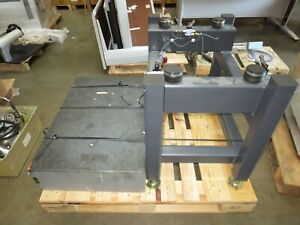 """Isolation Table, No Mfg's Data Plate,Block Size 36""""W X 24""""D X 8""""T,For Parts Only"""