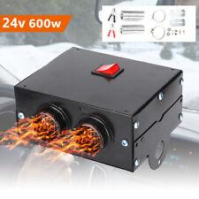600W Portable Electric Car Heater 12V Dc Heating Fan Defogger Defroster Demister